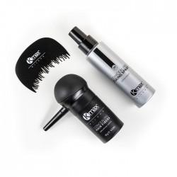 Kmax Zestaw Startowy Zagęszczanie Włosów Mikrowłókna do Włosów 4 Produkty